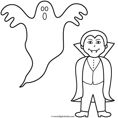 large ghost coloring page search results for gingerbread house worksheet