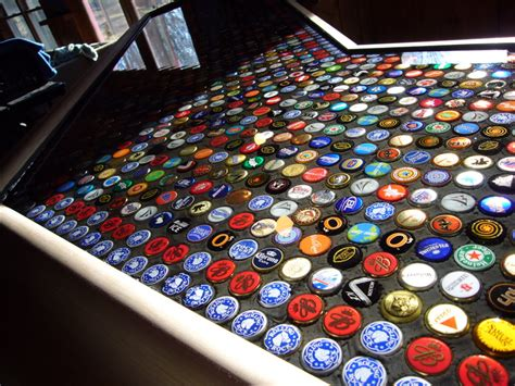 beer bottle cap bar top one big shiny step closer lisagaumond com
