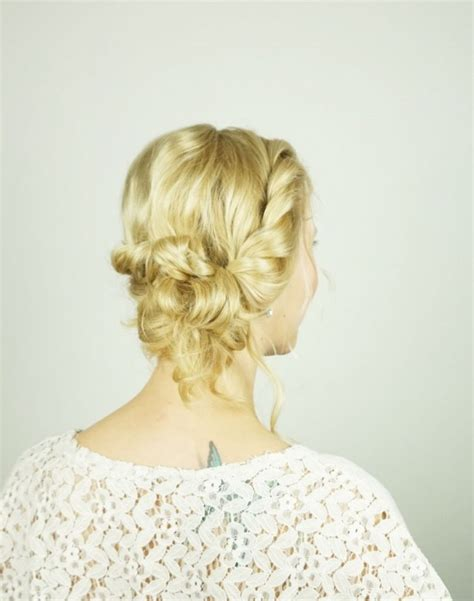 diy hairstyles for medium layered hair easy diy prom hairstyle for girls with short to medium