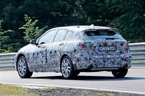 bmw 1 series 4 wheel drive new front wheel drive bmw 1 series spied winter testing by