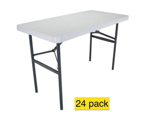 lifetime 4 foot table lifetime tables 2940 light duty 4 ft table white