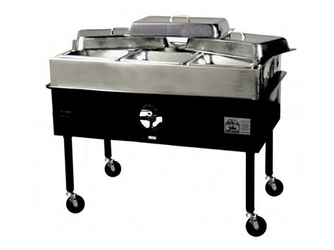 steam table propane 3 bay cort party rental