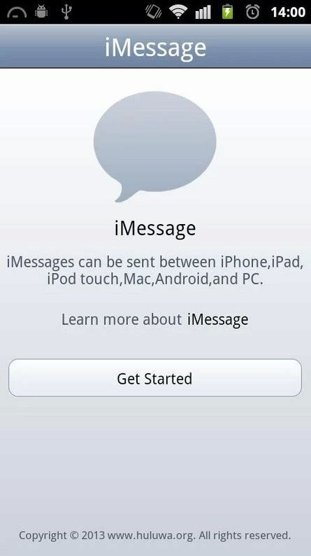 imessage chat for android imessage chat brings apple s imessage service on android geeksays