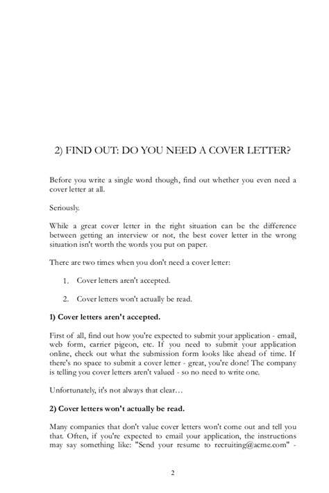 Cover Letter Guide by Cover Letter Guide