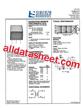 data sheet transistor lf data sheet transistor lf 28 images lf 402 datasheet pdf sirenza microdevices bb 1205s h lf