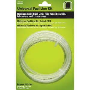 gas line home depot universal fuel line kit ac04124 the home depot