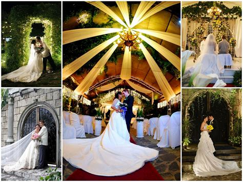 Budget Wedding Packages In Quezon City by Journey Of Our Venue The Blue Gardens