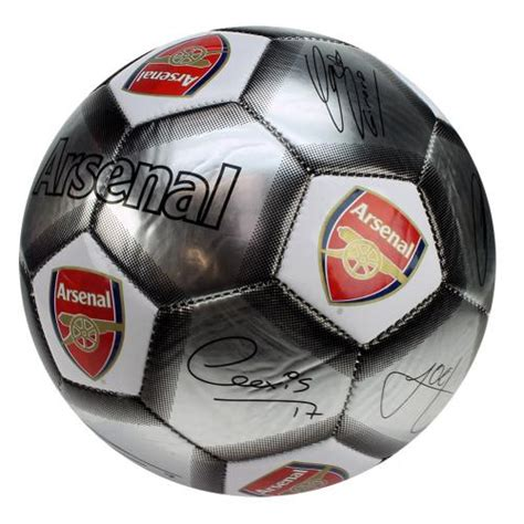 Arsenal Signature 6 official arsenal f c football signature sv buy on