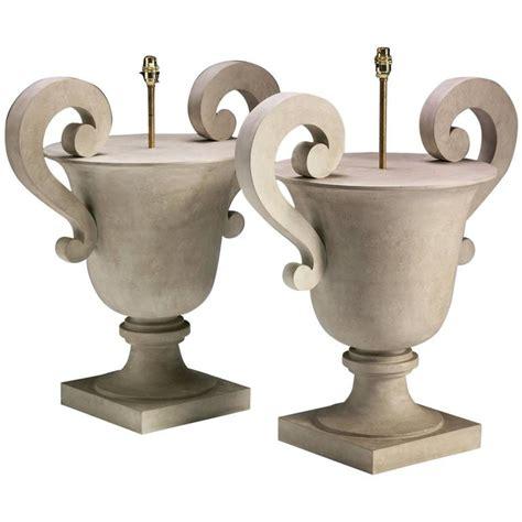 Urn L by Urn Table L Trompe L Oeil Travertine Urn Form Carved