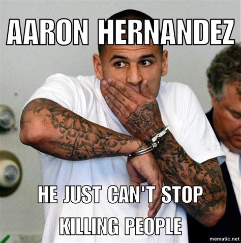 Hernandez Meme - social media reacts to aaron hernandez taking his own life