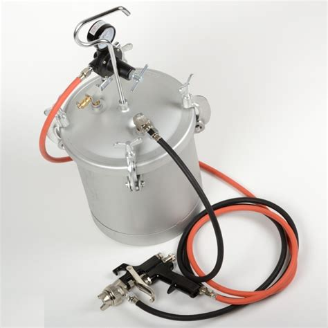 industrial spray painter qualifications high pressure pot air paint spray gun 2 1 4 gallon