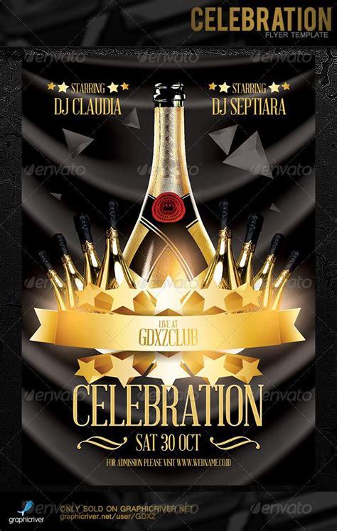 celebration flyer template graphicriver celebration flyer