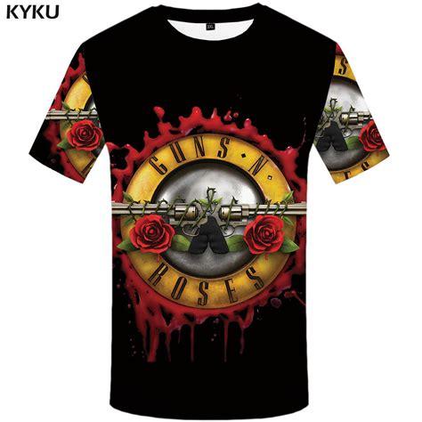 kyku roses and guns t shirt band tops guns n roses clothing tshirt shirts tees 2017