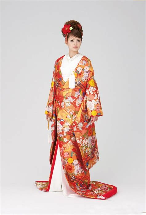 Dress Michan 1 78 best images about wedding kimonio 打掛 on japanese wedding dresses kimonos and wedding