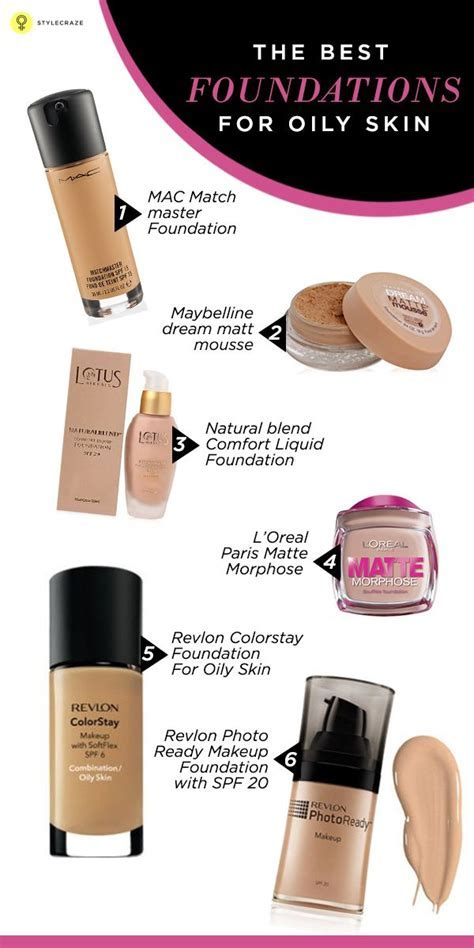 15 Best Foundations For Oily Skin in India   2019 Update
