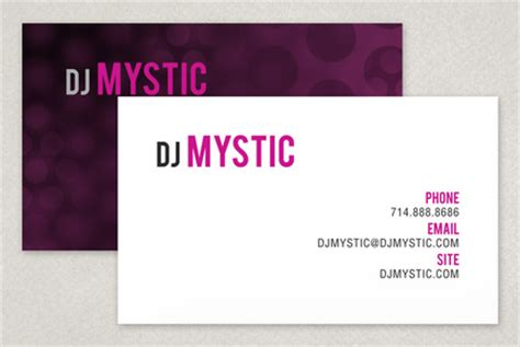 entertainment business card template free dj entertainment business card template inkd