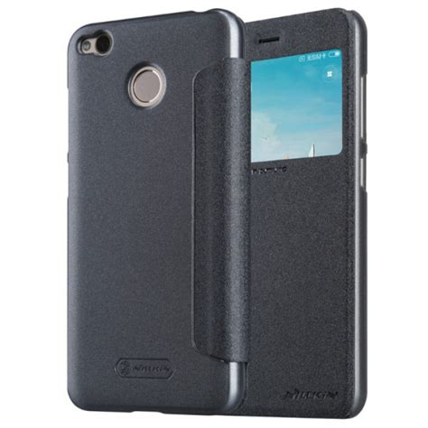 Cover Xiaomi Redmi 4a Leather Texture Softcase Kulit Back Casing jual nillkin sparkle flip cover xiaomi redmi 4x black