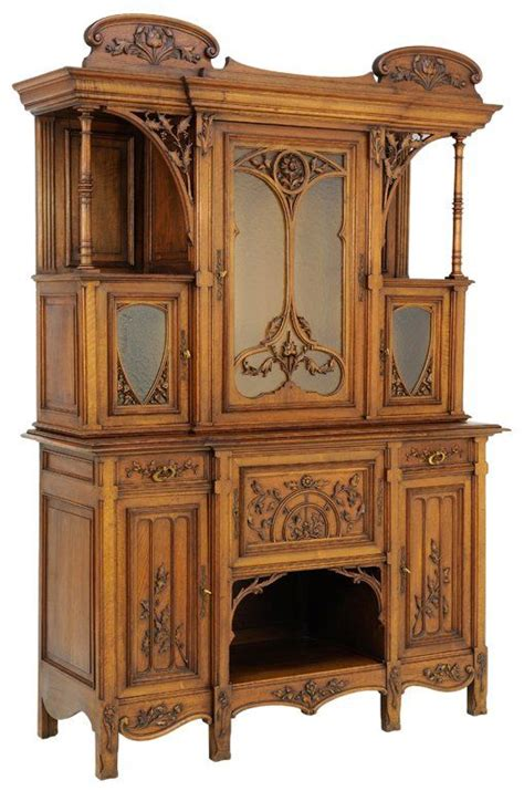 victorian gothic furniture a late gothic victorian revival style sideboard in a