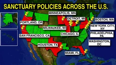 united states map of sanctuary cities vern buchanan says it s time to stop federal funding of