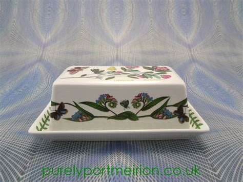 Portmeirion Botanic Garden Butter Dish 17 Best Images About Portmeirion Vintage Pottery On Pinterest Salad Bowls Dessert Plates And