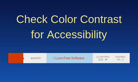 color contrast checker 5 color contrast checker tools for web