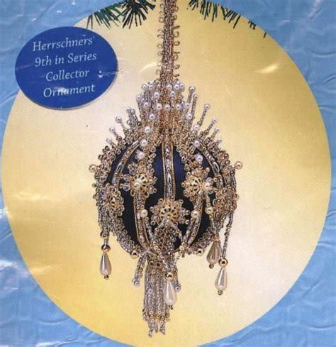 sequin ornament kits herrschners elizabeth i beaded sequin ornament kit