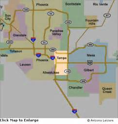 arizona map and surrounding areas