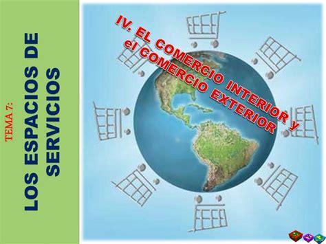 commercio cant t 7 4 el comercio interior y el comercio exterior