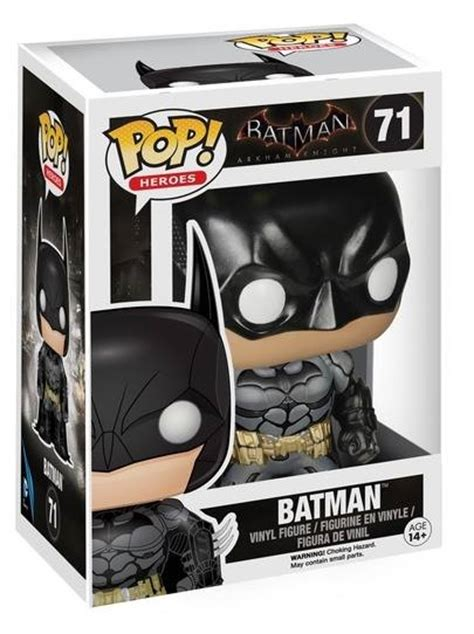 Funko Pop Heroes Batman Arkham Batman 71 funko pop heroes arkham batman vinyl figure collectible 3 75 quot ebay