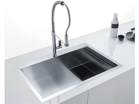 lavello franke neptune lavello a una vasca filo top in acciaio inox e cristallo