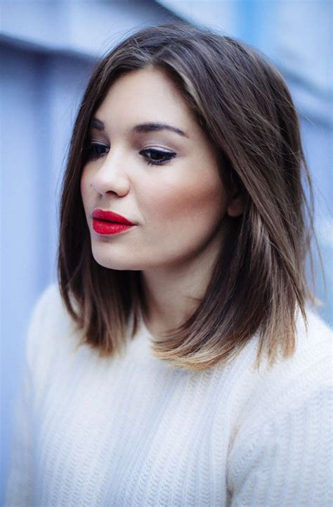 short hair lob long bob lob haircuts wardrobelooks com