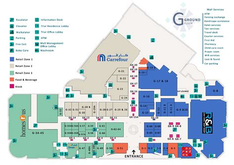 Retail Store Floor Plan floor map muscat grand mall