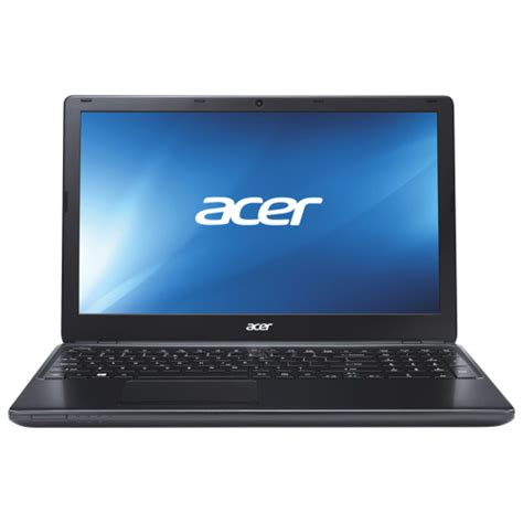 Laptop Acer Aspire E1 Series acer aspire e series 15 6 quot laptop black amd e1 2500 500gb hdd 4gb ram windows 8 best