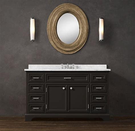 restoration hardware vanity bathroom