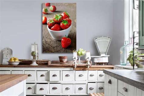 toile pour cuisine d 233 coration murale design avec un tableau sur toile toile