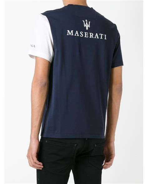 z zegna maserati t shirt in blue for lyst
