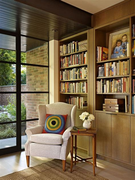 classic seattle lakefront house gets a bookish modern twist classic seattle lakefront house gets a bookish modern twist