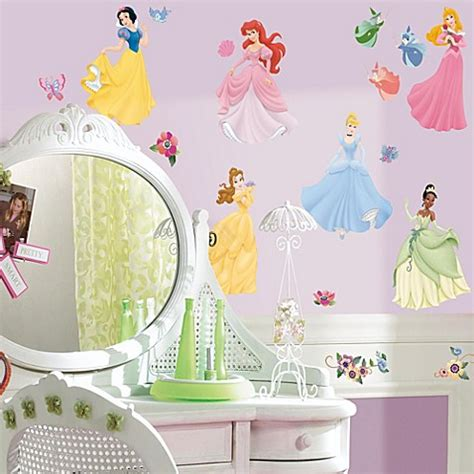 How To Use Multiple Disney Gift Cards Online - roommates peel and stick wall decals in disney 174 princess bed bath beyond