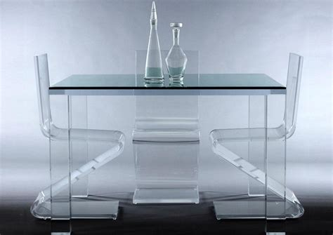 acrylic modern furniture avino acrylic dining table custom contemporary furniture