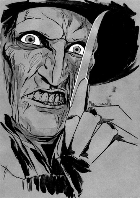 Freddy Krueger por mepol | Dibujando