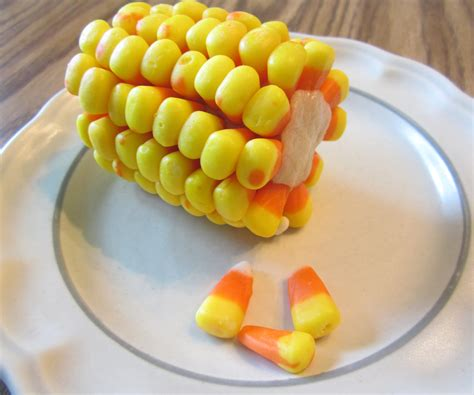 candy corn on the cob all