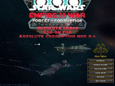 corruption of chions android absolute chaos mod for wars empire at war forces of corruption mod db