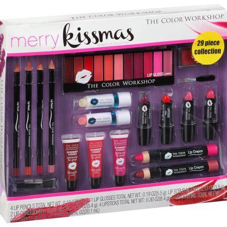 color workshop the color workshop merry kissmas lip collection 29 pc