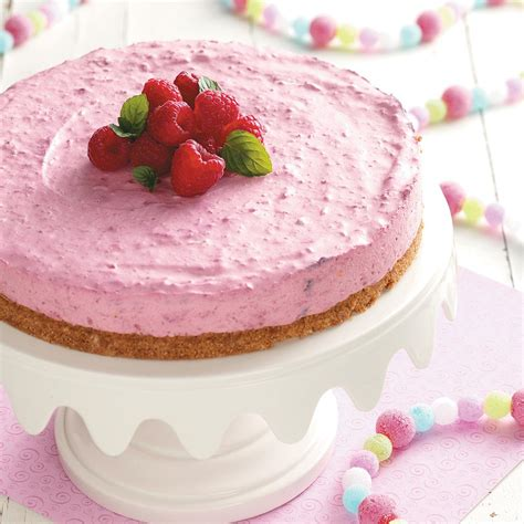 raspberry recipes creamy raspberry dessert recipe taste of home
