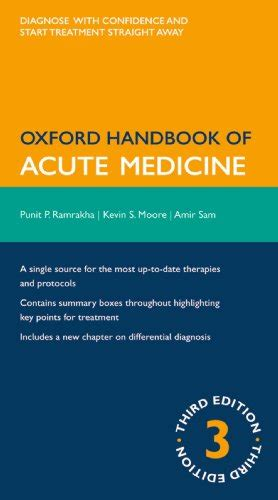 Oxford Handbook Of Acute Medicine Oxford Medical