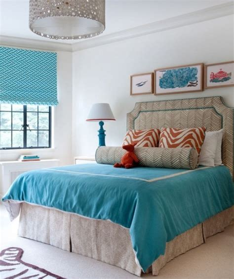 turquoise room ideas blue and turquoise accents in bedroom designs 39 stylish