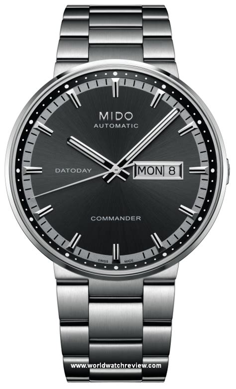 Mido Commander Automatic mido commander datoday automatic world review