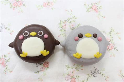 cute animal doughnuts  japan turned  manga