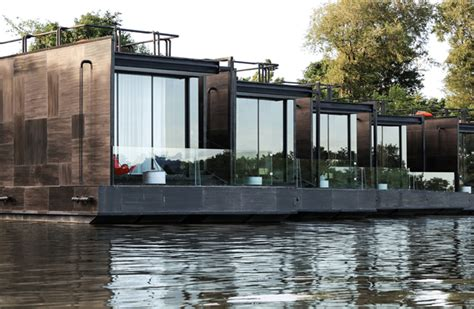 modular prefabricated floating house by friday eco friendly floating prefab homes home design garden