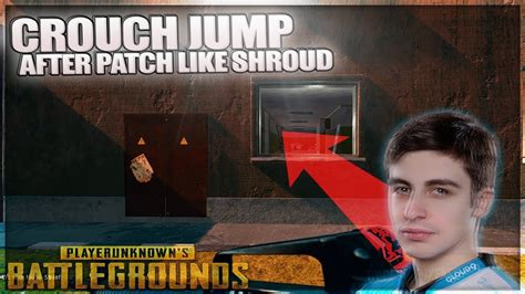 pubg jump crouch pubg how to crouch jump like shroud after sept patch u